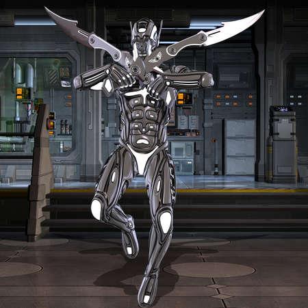 mech: Scifi Fantasy Figure