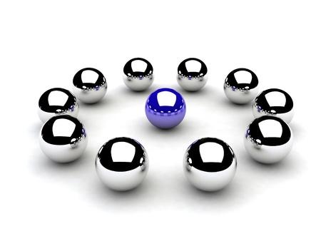 chromeballs Stock Photo - 9203211