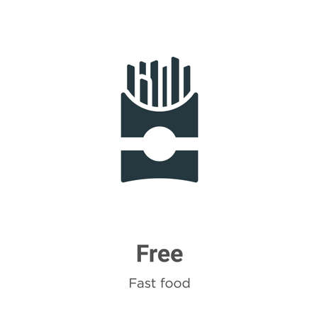 Free vector icon on white background. Flat vector free icon symbol sign from modern fast food collection for mobile concept and web apps design. Ilustracja