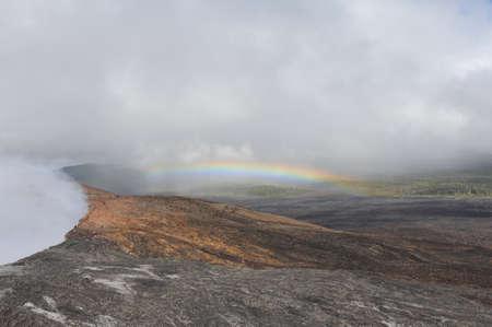 Big Island Kilauea Puu Oo crater vent
