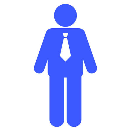 Groom flat vector icon. An isolated icon on a white background.