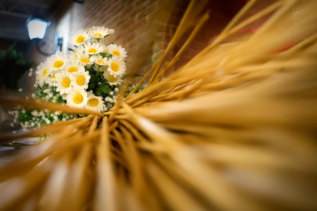 floreal: wedding floreal decoration, daisy