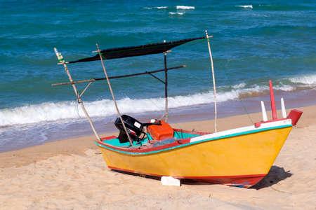 terengganu: Colored fishing boat n Terengganu, Malaysia