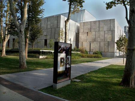 フィラデルフィア - フィラデルフィア、米国で 2013 年 9 月 11 日のバーンズ財団の 9 月 11 日外観