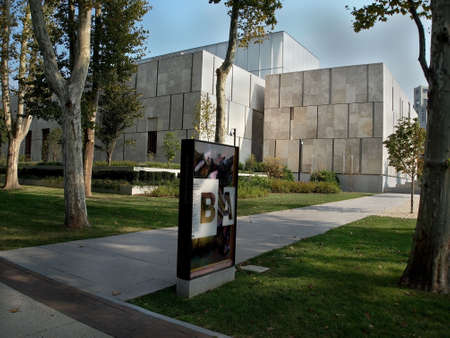 PHILADELPHIA - SEPTEMBER 11  Exterior of The Barnes Foundation on September 11, 2013 in Philadelphia, USA