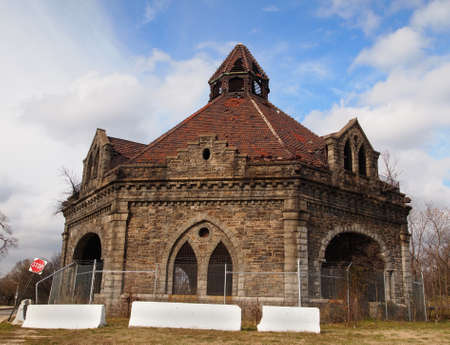 The Lake Clifton Valve House, also known as the Clifton Park Gate House, built in 1887