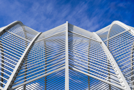 diagonals: Architecture under the blue sky
