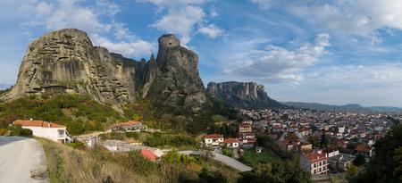 kalampaka: Panorama of Meteora and Kalabaka