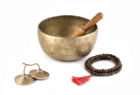 rin gong: Singing Bowl, Prayer Beads and Meditation Bells