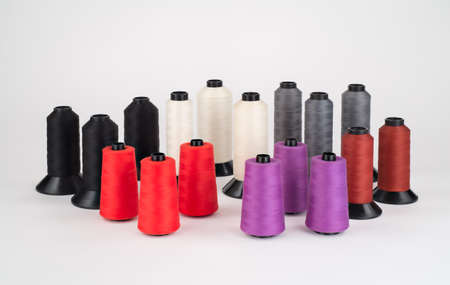 industrial: Assortment of Industrial Thread on large spools.