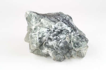 fluorite: Large Transparent Green Fluorite Crystal