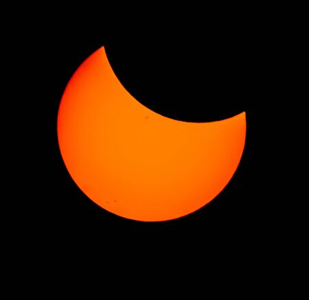 Great American Eclipse 2017, solar eclipse, first contact