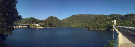 panoramics: Panoramics of Cani�ada dams lake, Portugal