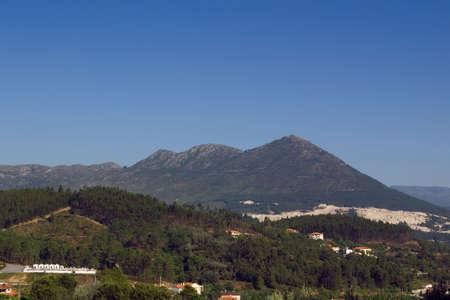 Mountain of Sanctuary of Senhora da Gra�a. Terras de Basto, Portugal