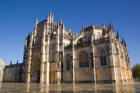 Monastery of Santa Maria da Vit�ria, also known as Batalha Monastery. Batalha, Portugal.