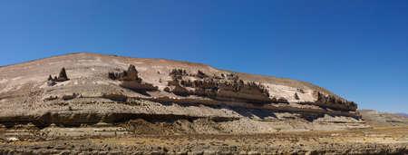 aguada: Stone wood or forest in Reserva Natural de Salinas e Aguada Blanca. Natural volcanic rock forms. Viscachani, Arequipa, Peru.