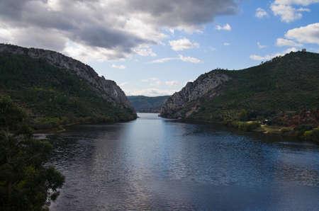 Tagus river crossing Portas de Rodao  Vila Velha de Rodao, Portugal
