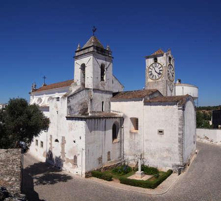 Saint Mary of the Castle  Santa Maria do Castelo  church in Tavira
