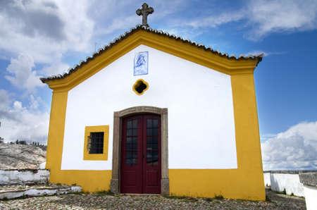 senhora: Chapel of Nossa Senhora da Pena Chapel built in the 17th century  Castelo de Vide, Alentejo, Portugal