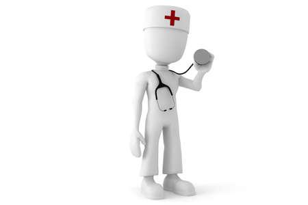 3d man doctor photo