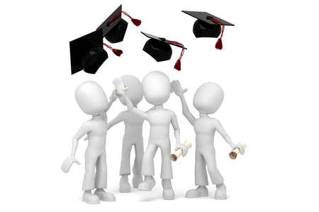 finishing school: 3d man student