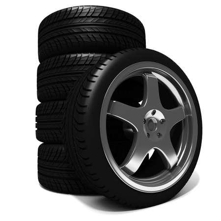 3d tires Stock Photo - 8224276