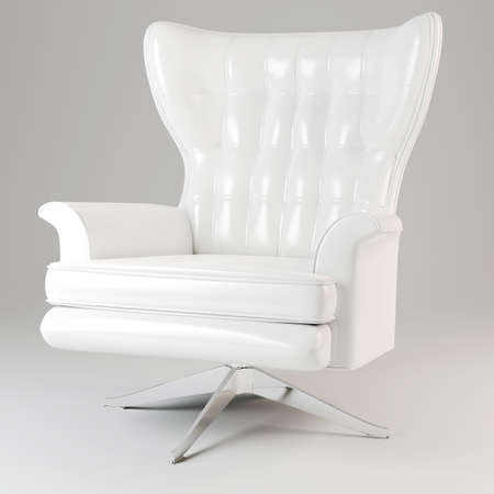 3d armchair studio render photo