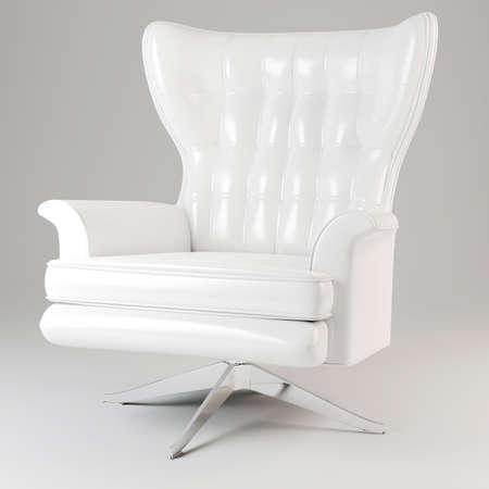 3d armchair studio render photo