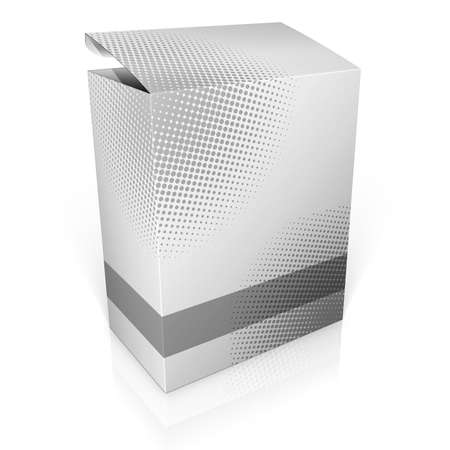 paper product: 3d software box