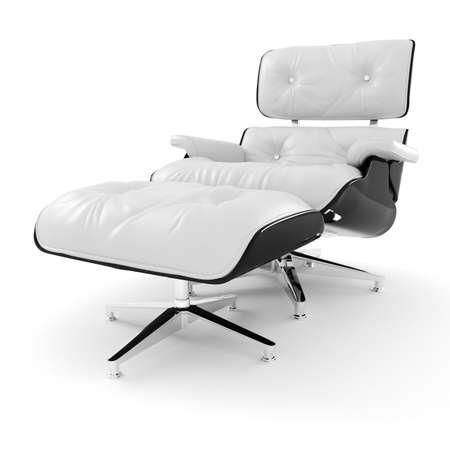 3d arm chair , studio render Stock Photo