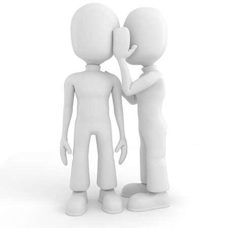 quiet adult: 3D uomo pu? ? tenere un segreto?