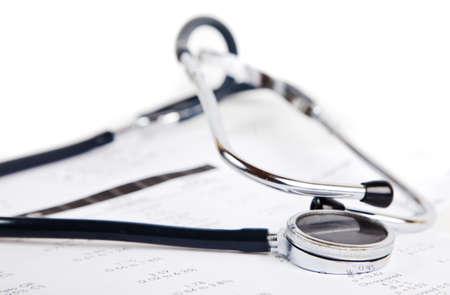 Doctor's stethoscope, studio shoot Stock Photo - 8533327