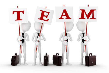 lideres: equipo de 3D
