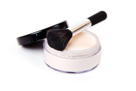 make-up brush close-up photo