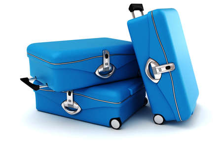 passenger: 3d luggage isolated on white background