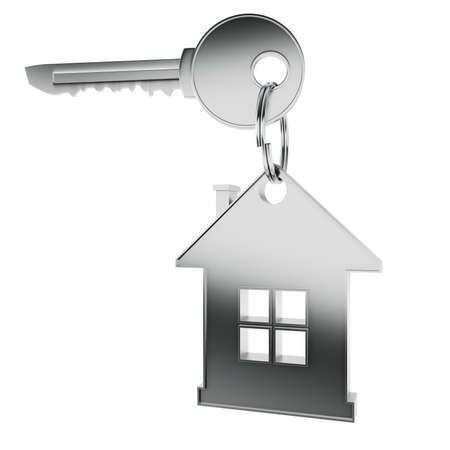 3D home key render concept Stock Photo - 9820337