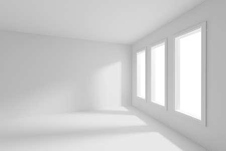 3d render of an empty room Stock Photo - 10475457