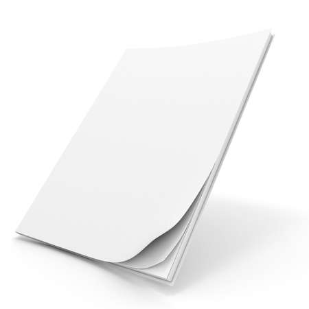 3d book with blank cover Stock Photo - 11350525