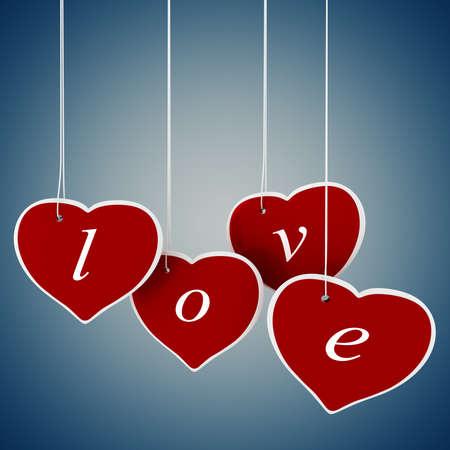 3d valentine Stock Photo - 11909584