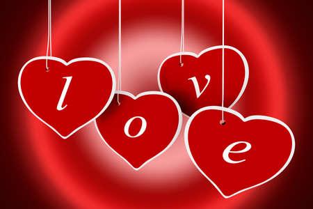 3d valentine Stock Photo - 11909575