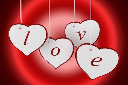 3d valentine Stock Photo - 11909578
