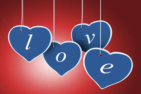 3d valentine photo