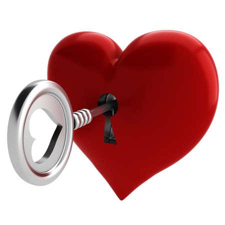 3 차원 키와 마음, 발렌타인 개념