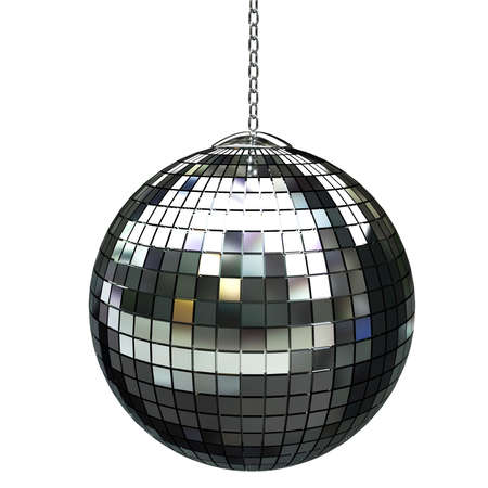 discoball: 3d shiny disco ball