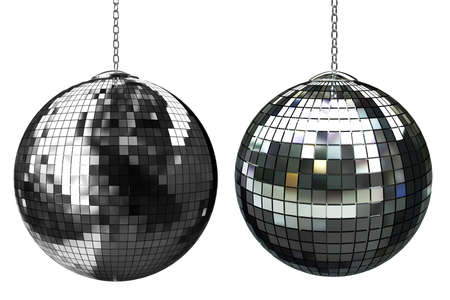 3d shiny disco ball Stock Photo - 12807412