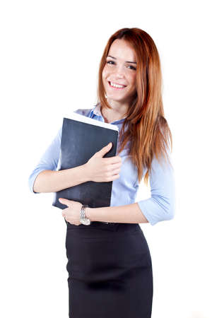Attractive young business woman Stock Photo - 13568559