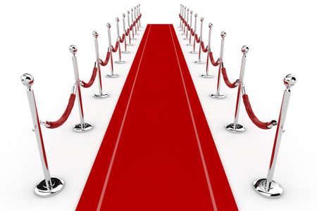 blockbuster: 3d red carpet illustration