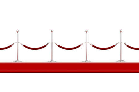 red carpet background: 3d red carpet illustration