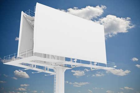 3d blank billboard Zdjęcie Seryjne