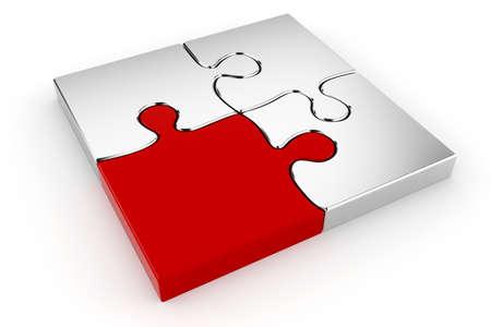 piezas de puzzle: Piezas del rompecabezas 3D
